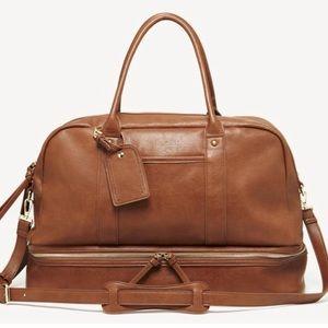 Sole Society | Mason Weekender Cognac Tote Bag